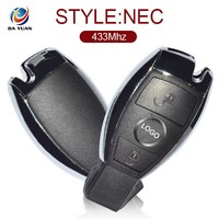 Auto fob key for Benz Mercedes 2 button Smart Remote NEC Chip 433Mhz AK002020
