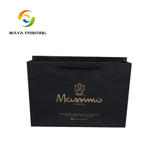 Foldable custom printed promotional gift retail shopping bags