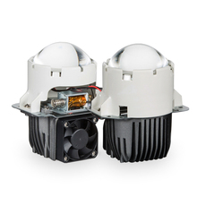 2018 New products for Universal car 55W 9600lm 3inch Bi LED Projector Lens Headlight with high and low beam