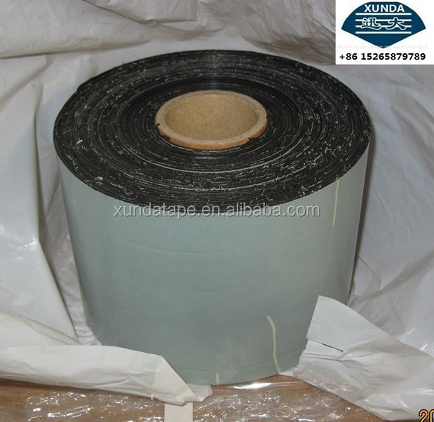 Polypropylene fiber bitumen anticorrosion tape for gas pipeline