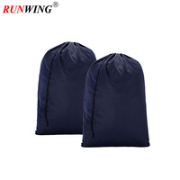 Extra Large Travel Laundry Bag Machine Washable Sturdy Rip-Stop Material Drawstring Closure