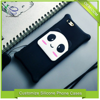Latest designs cheap good quality elegant cute silicone cell phone case