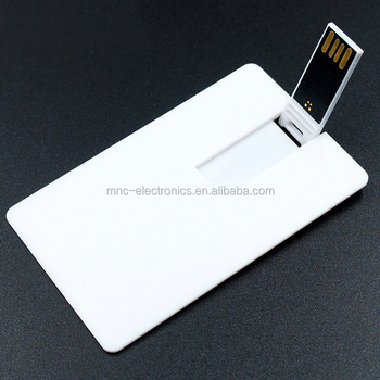 blank business card usb with your logo both sides,credit card usb flash drive