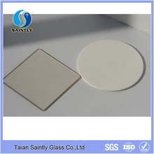4mm black ceramic silk printing cutting tempered glass