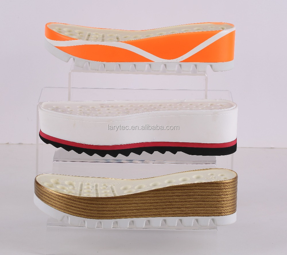 Rubber/EVA/TPU/ TPR thick sole shoes for men and women