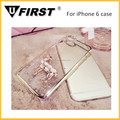 Luxury diamond case for iphone 5/6, sheep design case for iphone