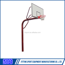 Inground Spray Aluminum Pipe Basketball Stand/System