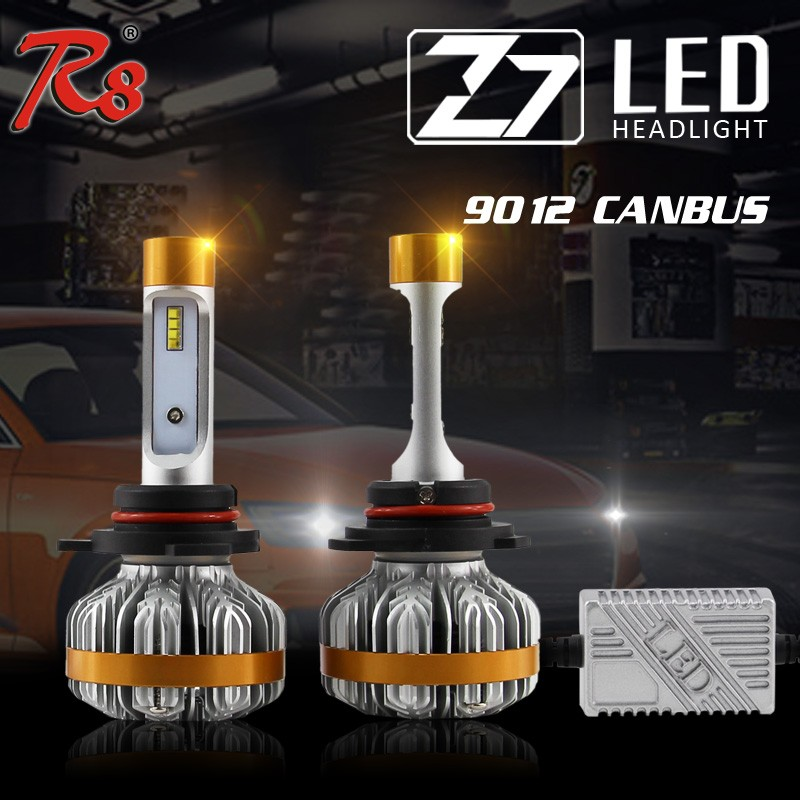 CAN BUS Error free LED headlight <strong>Lamp</strong> Z7 LED Headlights ZES <strong>Car</strong> light