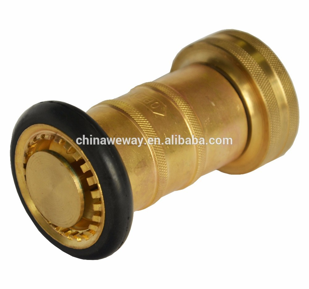 CE Certified fire hose nozzle jet & spray Exported to Worldwide