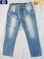 Manufacture stone washed denim jeans for men women Children