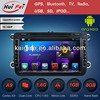 HuiFei Android 4.2.2 Multipoint Capacitive Touch Screen Mirror Link support OBD2 Dual Channel Can Bus Decoder for VW Car DVD