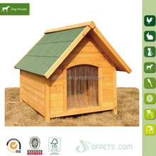 Outdoor Large Solid Wood Dog House For Pet