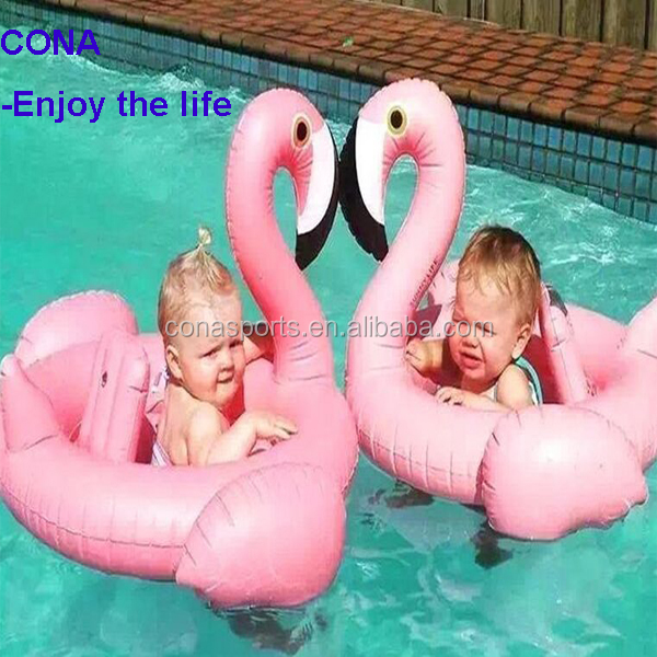 Baby Kid Inflatable Flamingo Swan Shaped Pool Float 2017 Ins Amazon Hot Sale Ring Raft Swimming Water Fun