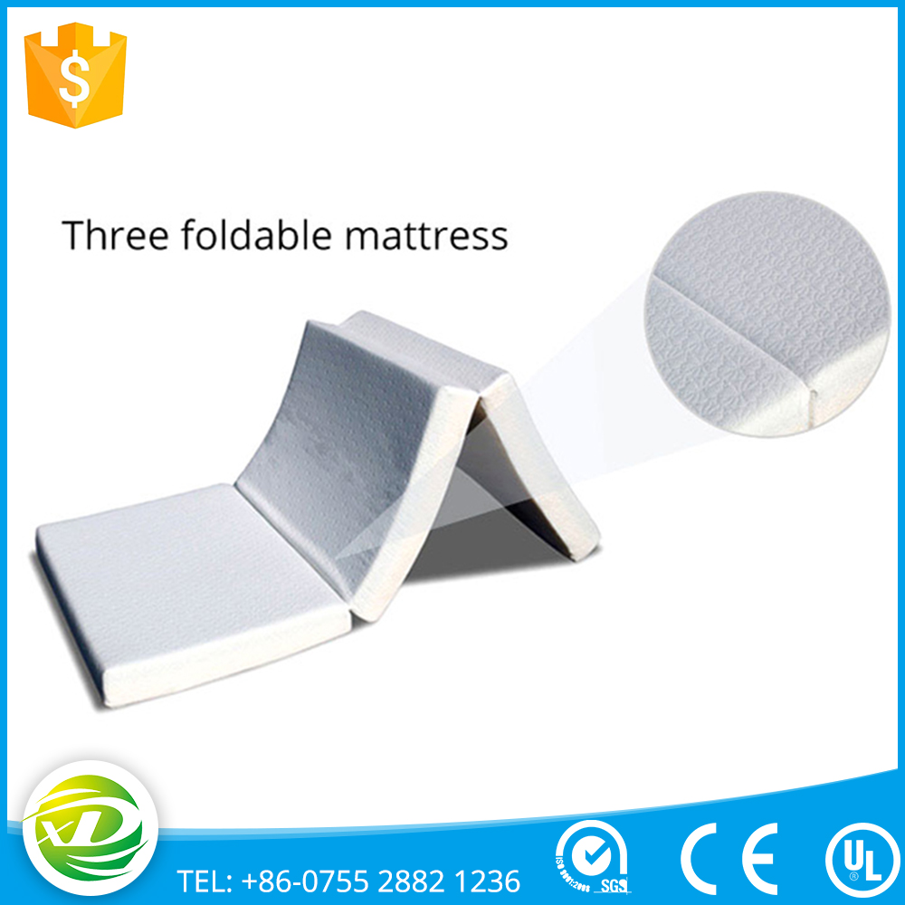 China wholesale original sponge 4Inch inflatable bed foldable mattress