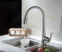 2015 New Design Hand And Auto Dual-Use Stainless Steel Automatic Kitchen Faucet