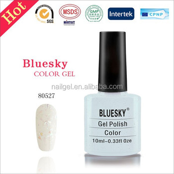 Bluesky gel polish 80527,uv led Gel Soak Off Nail Polish 10ml
