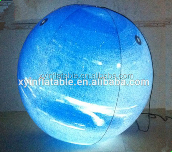 commercial giant inflatable Uranus planet balloon for advertising decoration