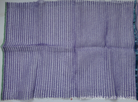 Purple Tubular Mesh Bag for Garlic Packing