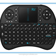 Rii Mini Wireless Keyboard with Touchpad 2.4g i8 android tv air mouse remote