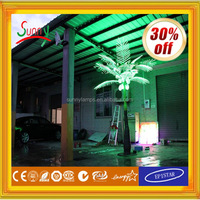 china hot sale aluminium profile cap aquarium led grow light programmable and dimmable,led palm tree light