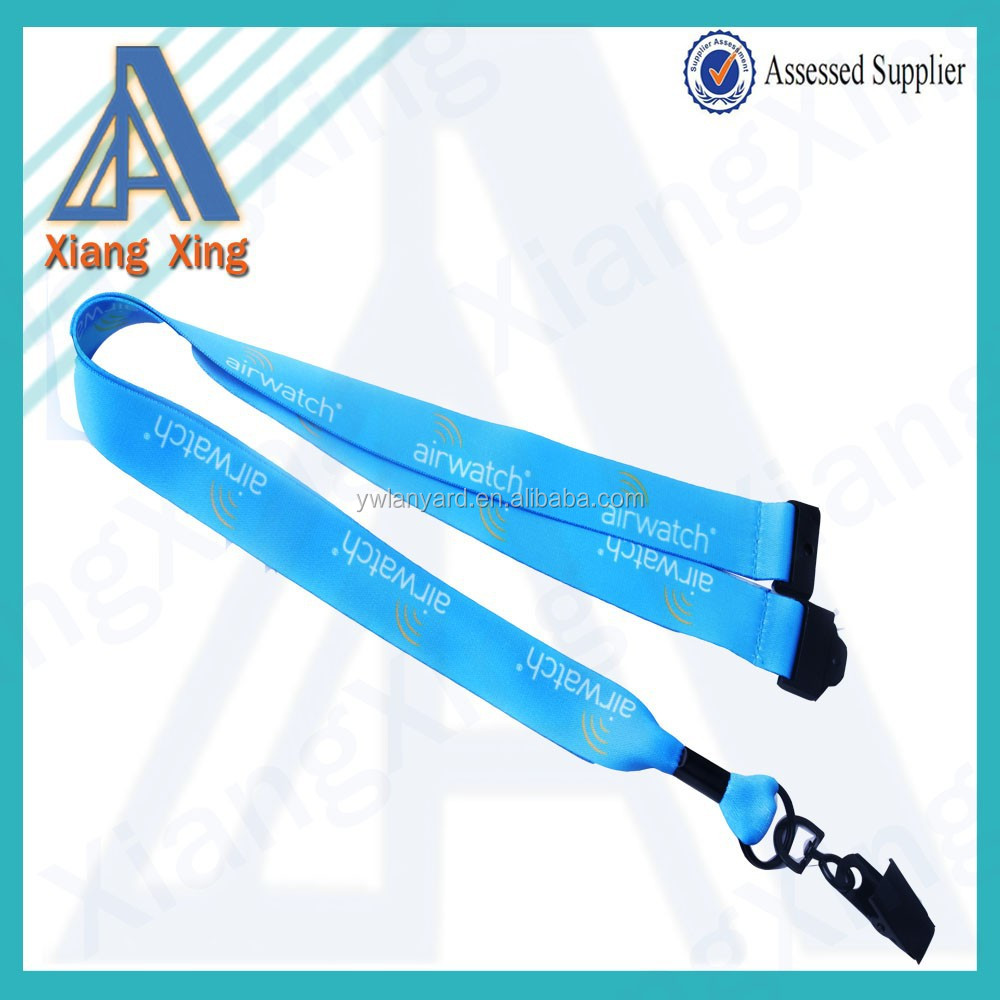 Id Neck Strap Lanyard for ID Card Holder with Metal Clip and Safety Breakaway