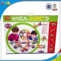 Popular Toy Magformers 71PCS DIY Toys Plastic Magnetic Building Blocks Toy Block