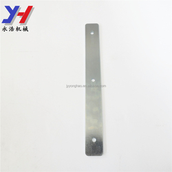 Custom made Galvanized straight flat metal mending fixing plate bracket