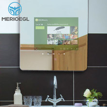 Magnifying magic mirror luxury touch screen smart mirror price with light