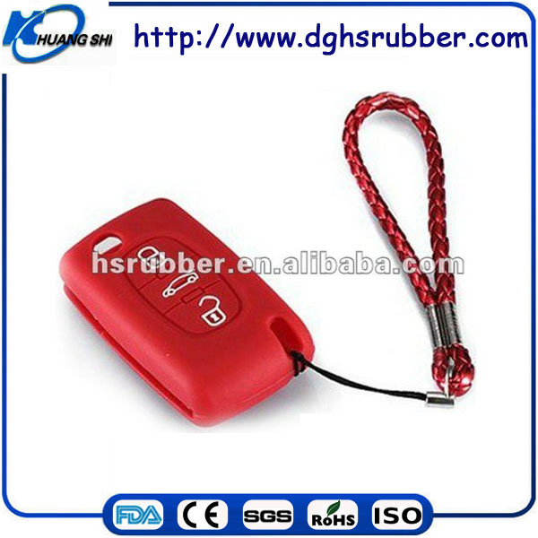 Fashional design silicone car key covers case used for key protection