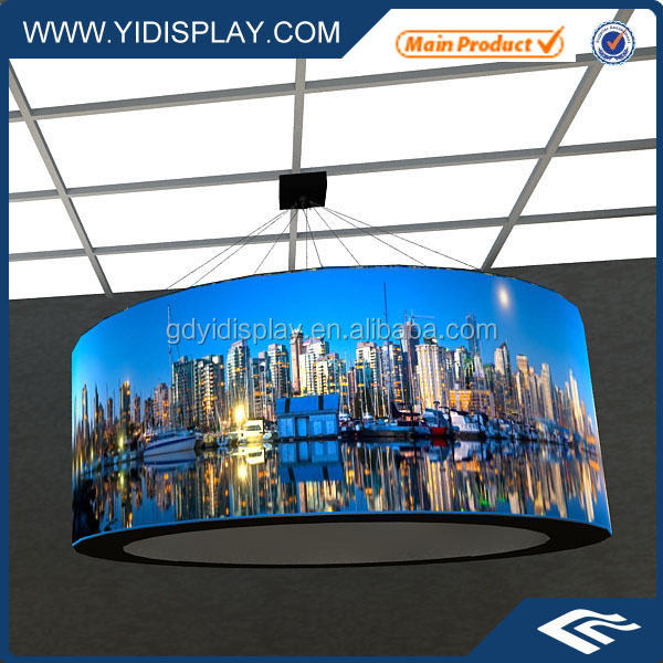 Custom Printed Trade Show Ceiling Hang Signs