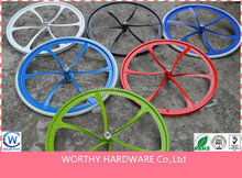 modern style 6 spoke bicycle wheel for mountain bicycle and road bicycle