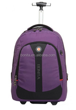 Fashion travel trolley backpack new style business trolley bag