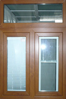 PVC Window 80 Integrated Sliding Window ( Integrated Frame ) PVC Profile