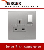 saso approve electrical wall BS 1363 switch sockets 13A