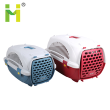 Plastic outdoor dog porter travel kennel
