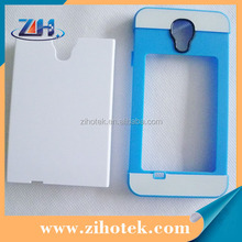 2 in 1 Dual Protective 3D sublimation Card Insert Case for Samsung Galaxy S4