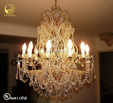 Crystal chandelier parts wholesale restaurant ceiling light