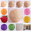 Hot sale Chinese handmade real rattan ball,wicker ball wooden craft ,christmas decoration