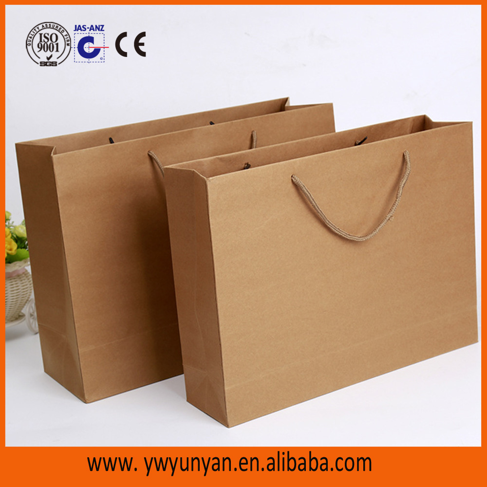 recycled brown/white grocery kraft paper bag paper bags design