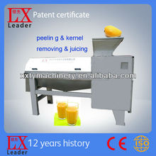 Tianyu Leader Brand High Output Mango Peeling And Juice Production Machine