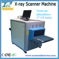 X Ray Baggage Scanner For Public