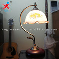 glass flower shape lamp lighting cover, table glass light cover