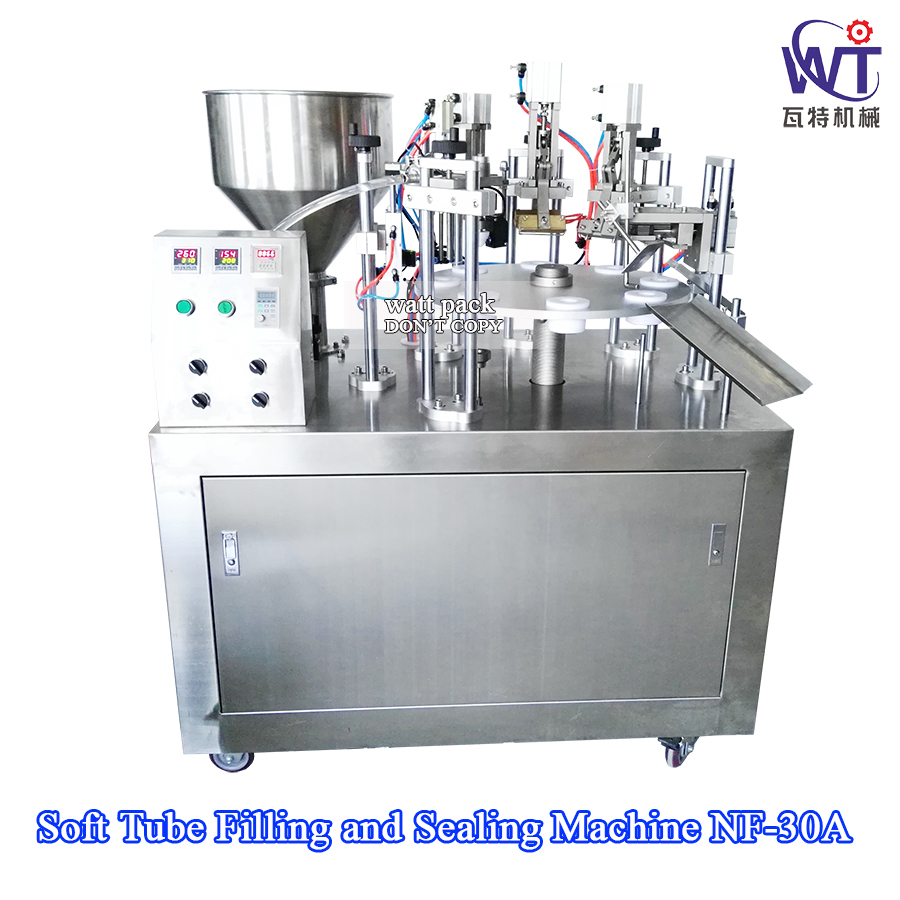 High Quality Semi Automatic Honey Tube Filling Sealing Machine
