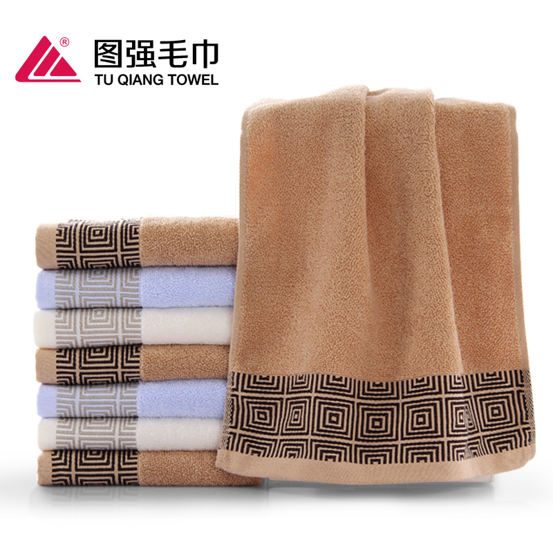 OEM ODM customized 100% cotton high-end gift hotel cleaning face towels
