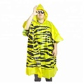 eco-friendly rain poncho disposable raincoat biodegradable protect environment