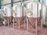 200L-20000L stainless steel fermentation vessel for beer with cooling jacket