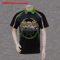 Pit crew shirts custom made motocross jersey