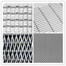 stainless steel sheet conveyor belt/weave belt/wire ring mesh