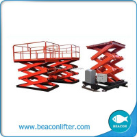 best selling mini lift table air scissor jack lift