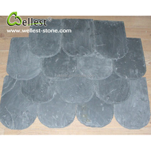 Factory Manufacture Natural Green Slate Roofing Tiles for Villa